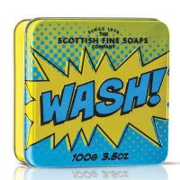 Soap in a Tin 100g - Fresh, Scrub, Soap & Wash